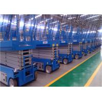 Cheap Zero Emission Self Propelled Lift , Aerial Work Platform 6-14m Dimensional Stable for sale
