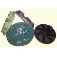 Quality High Performance 3'' Hard Diamond Ceramic Polishing Pads For Stone Processing wholesale