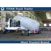 Cheap Customized 2 , 3 axles Cement  tanker Trailer with 20 cbm - 40 cbm loading capacity for sale