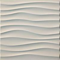 Cheap Thickness 1mm 3D PVC Wall Panels For Household / Administration / Commerce for sale
