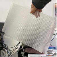 Buy cheap Chinese 3D factory manufacture 3d lenticular lens sheet/PP/PET/PS material/3d from wholesalers