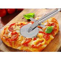 Cheap Sanding Polishing Stainless Steel Pizza Cutter With Handle Filler 198 x 67 x 25mm wholesale