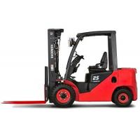 Cheap 2 Ton Gasoline Engine Powered Forklift Truck For Storage Yard Rough Terrain for sale