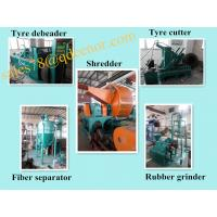 China Tyre Recycling Equipment/Crumb Rubber Price/No Pollution Tire Recycling Line on sale