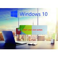 Buy cheap Global Area COA License Sticker / Windows 10 Product Key Operating System from wholesalers