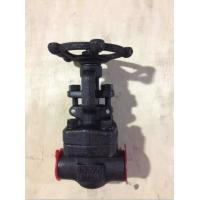 Buy cheap Forged Steel Valves, ANSI Forged Steel Socket Welded/NPT Gate Valve 800LB from wholesalers