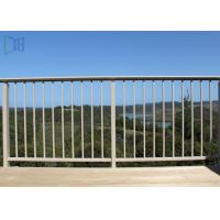 Cheap Finished Surface Aluminium Balustrade Outdoor Stair Handrail Competitive Price for sale