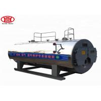 Cheap WNS 1 Ton Oil Gas Fired Steam Boiler Dairy Plant Steam Generation Use for sale