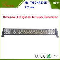 """Cheap 270w 35"""" 3 rows waterproof IP67 LED light bar, LED mining bar, for 4x4 truck and 4wd auto for sale"""
