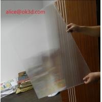 Cheap 3D effects lenticular sheet materials 25 lpi 4mm thickness lenticular for uv flatbed printer and inkjet print for sale