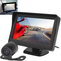 4.3 Inch TFT Screen Car Rear View Monitor 640x480 Resolution 430DA-C1