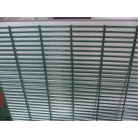 Cheap Vandal Proof 358 Mesh FencingRHS C/W Clamp Bar H Type Post 1.27x2.5m Panel for sale