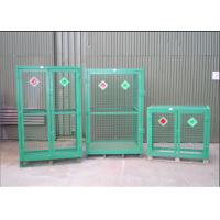 Cheap Welded Galvanized Gas Cylinder Cages With Powder Coated For Industry      for sale