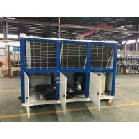 China Low Temperature for V Type Box Refrigeration Condensing Units Compressed on sale