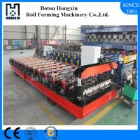 Cheap Galvanized Sheet Metal Roll Forming Machines , ISO Roof Roll Forming Machine wholesale