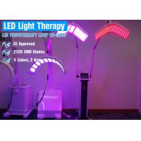 Cheap Led Red blue yellow Light Therapy For Wrinkle Reduction , Skin Care Light Therapy Touch Screen for sale