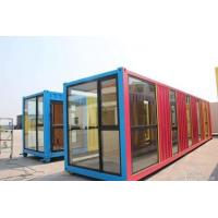 Cheap Anti Seismic Recycle Waterproof Prefab Container House Construction 40ft Size for sale