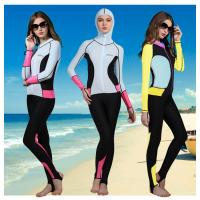 China lycra nylon women scuba suit swim wear full suit rash guard UPF50+ on sale on sale