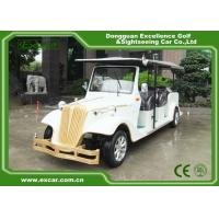 Buy cheap EXCAR 8 Passenger Electric Classic Cars 72V Battery Electric Vintage Car from wholesalers