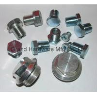 Cheap SAE hex socket steel plug for sale