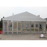Buy cheap Windproof Aluminum Wall Tent Frame Steel Frame With Plating Processing from wholesalers
