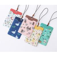 Cheap Promotional Gifts Lanyard ID Card Holder Bus Card Cover Lovely Carton Theme for sale