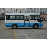 Cheap MD6758 ISUZU Engine Passenger Coach Bus Leaf Spring 19 Seater Minibus for sale