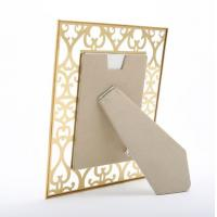 China Luxury Art Glass Picture Frames , Glass 4x6 Picture Frames Eco Friendly on sale