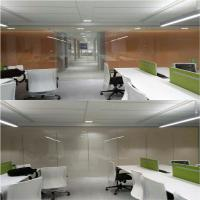 Cheap electric frosted glass meeting room partition EBGLASS for sale