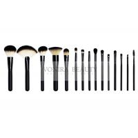 Cheap Luxury Shiny Black Middle Quality Makeup Brushes Beauty Kits for sale