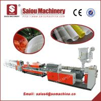 Cheap PP PE corrugated pipe plastic extrusion machine for sale