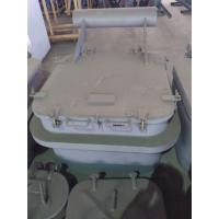 Cheap Round Angles Marine Steel Hatch Cover Crude Oil Tanker Cover Customized for sale