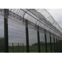 Cheap High Security Prison Mesh Fence Panels / 358 Anti Climb Fence for sale