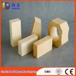 Cheap White High Density Fire Proof Bricks , Bauxite Chamotte Lightweight Refractory Bricks wholesale