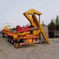 Cheap 20ft 40ft container side lifter 37ton side lifter truck trailer for sale