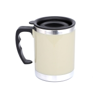 Cheap 400CC Metal Insulated Coffee Mugs for sale