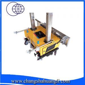 Cheap mini lime gypsum auto plaster machine in cheap price for India market for sale
