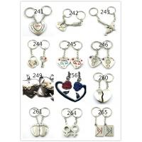 Cheap cheap fashion couple keychains metal for sale