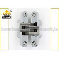 Cheap Meta Zinc Alloy 180 Degree Soss Invisible Entry Door Hinges Hardware for sale