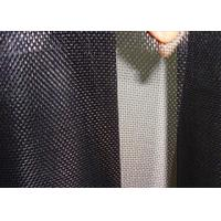 Cheap Low Carbon Black Coated Hardware Cloth Low Elongation High Tension for sale