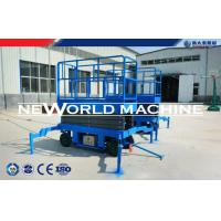 Cheap Arm Hydraulic Platform Lift Diesel / Electric / Gaslione Mobile Scissor Lift for sale