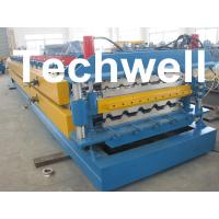 Cheap High Grade 45# Axis Double Layer Roll Former / Roll Forming Machine For Roofing Sheets for sale