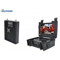 Buy cheap Backpack COFDM Transmitter , Microwave A / V portable Wireless Hdmi Video Transmitter Encrypted from wholesalers