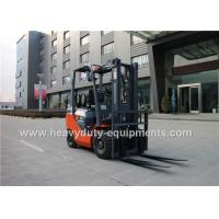Cheap 2065cc LPG Industrial Forklift Truck 32 Kw Rated Output Wide View Mast for sale