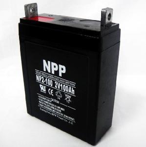 Cheap Solar Battery NP2V 100ah for sale