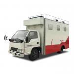 Cheap Customized JMC Mobile Cooking Trucks , Street Food Truck For Dessert / Cafes / Boissons for sale