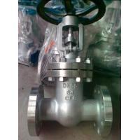 Cheap API 600 Class 300 Flanged Gate Valve , 4 OS & Y Gate Valve Stainless Steel for sale
