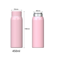 Cheap BSCI Anti Slip 15 Ounce Stainless Steel Vacuum Flask for sale