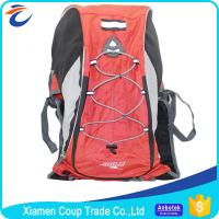Solar Hiking Backpack / Hiking Camping Backpack High Intensity And Durable Fabric