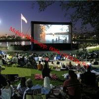 Cheap Inflatable rear projection screen inflatable movie screen for sale